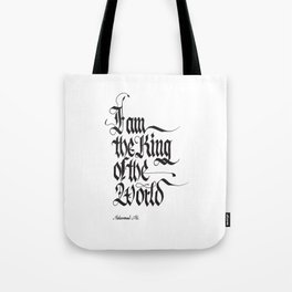 I am the king of the worl - Ali Tote Bag