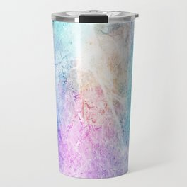 Color Abstract Travel Mug