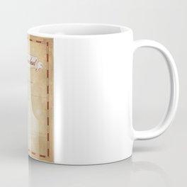 Map of Neverland Coffee Mug