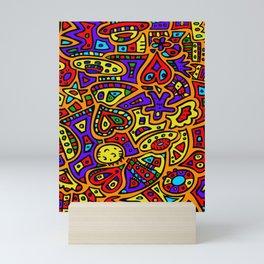 Abstract #416 Mini Art Print