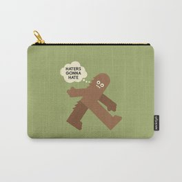 Bigfoot Has So Many Haters Carry-All Pouch