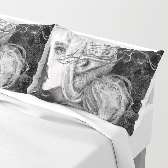 Lavellan black and white Pillow Sham