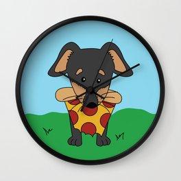 Paco Love Pizza Wall Clock