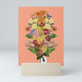 Botanical (Pink) Mini Art Print