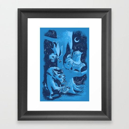 Children of the Night Framed Art Print