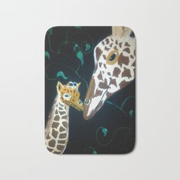 Mom and Baby Bath Mat