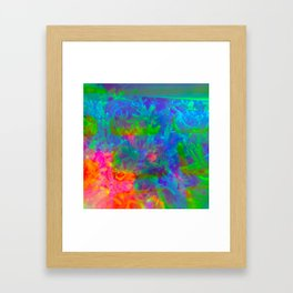 Our Psychedelic Nature Framed Art Print