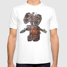 Gamebot Mens Fitted Tee SMALL White