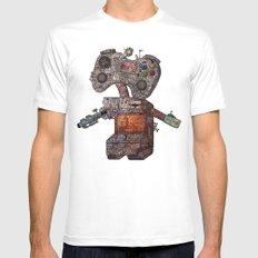 Gamebot Mens Fitted Tee White MEDIUM