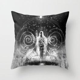 seiðkona Throw Pillow