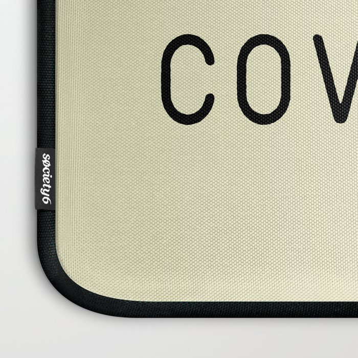 But First, Covfefe Laptop Sleeve