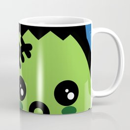 Creepy Egg Frankenstein - Halloween Coffee Mug