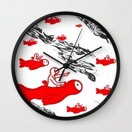 Voyager guardians Wall Clock