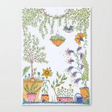 zen garden  Canvas Print