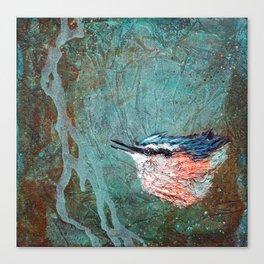 Nuthatch Creek II Canvas Print