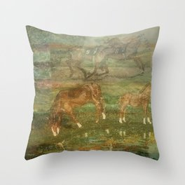 """"""" Bloodlines """" Throw Pillow"""
