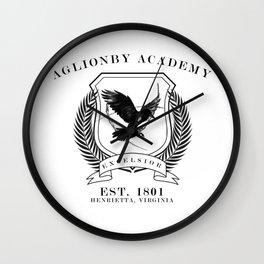 aglionby academy Wall Clock