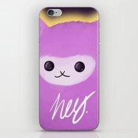 alpaca iPhone & iPod Skins featuring Alpaca by Domi