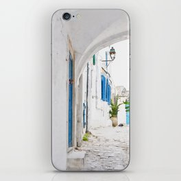 Tunisian street iPhone Skin