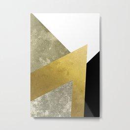 Modern Geometric 4 Metal Print