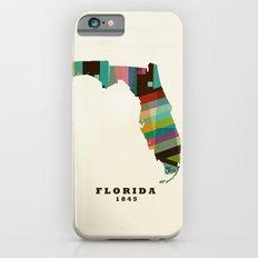 Florida state map modern iPhone 6s Slim Case