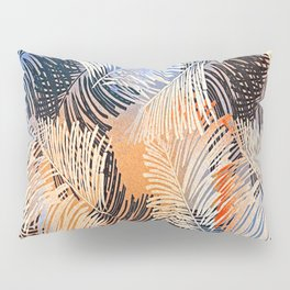Palm Leaves By Annie Zeno Pillow Sham