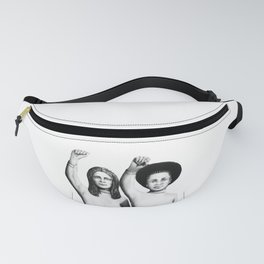 Unite from the activist art series Unite and Resist Fanny Pack