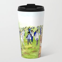 Mount Fuji Party Travel Mug