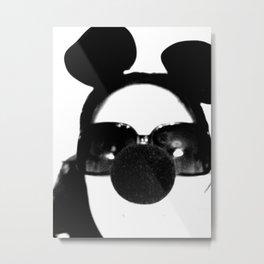 Mouse Face Metal Print