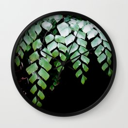 Diamond Maidenhair Wall Clock