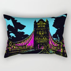 London Bridge Rectangular Pillow