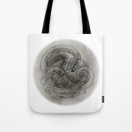 Norse Snake Tote Bag