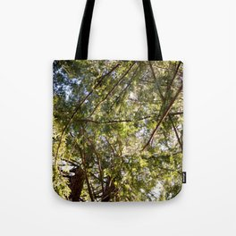 Redwood Ceiling  Tote Bag