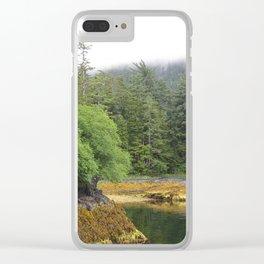 Verdant Sitka Clear iPhone Case