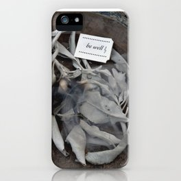 Be Well: Sacred Smoke iPhone Case