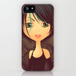 Gothica iPhone Case