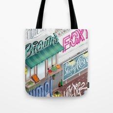 City Pangrams Tote Bag