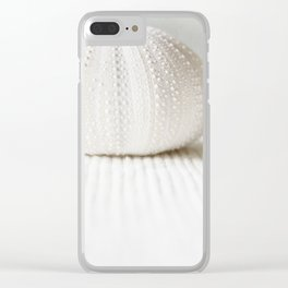 sea urchin Clear iPhone Case