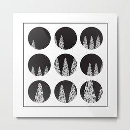 Space & The Woods Metal Print