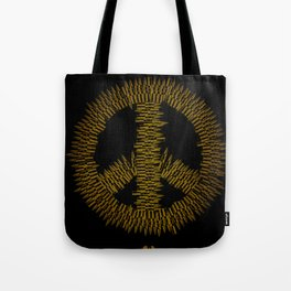 Bullet Peace Tote Bag