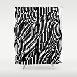 Op Art #1 Shower Curtain