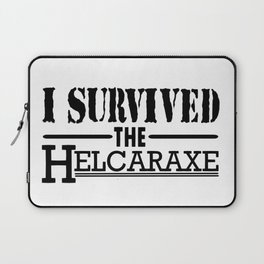 I Survived The Helcaraxe Laptop Sleeve