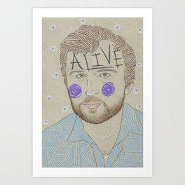 Max Bemis Art Print