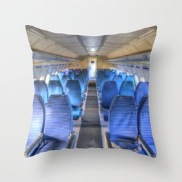 Russian Airliner Seating Throw Pillow