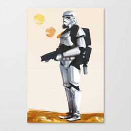 Join the Stormtrooper Corps Canvas Print