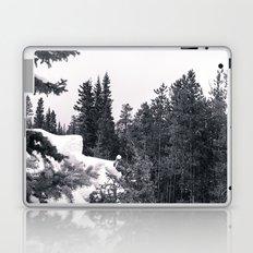 Snowy Trees Laptop & iPad Skin