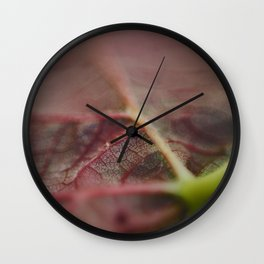 Nature's Pattern I Wall Clock