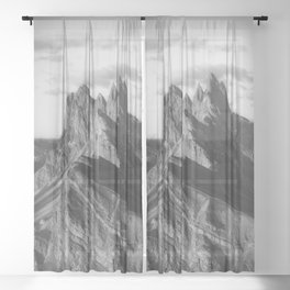 MOUNTAIN DREAM XIII Sheer Curtain