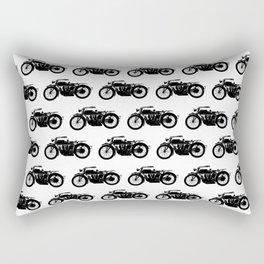Antique Motorcycles Rectangular Pillow