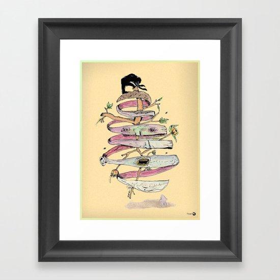 Cas-cara Framed Art Print